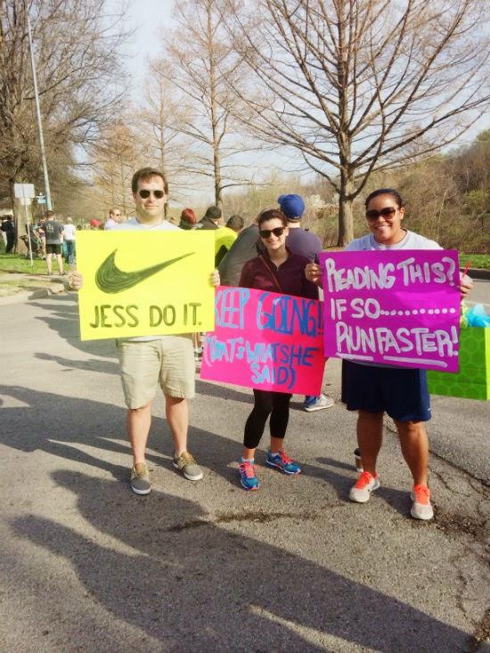 motivating signs for a half marathon