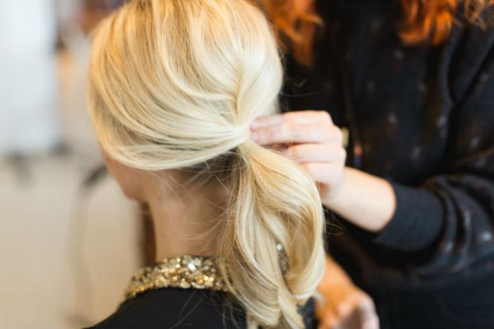 chic ponytail tutorial