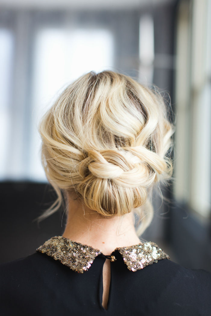 Holiday Updo how-to