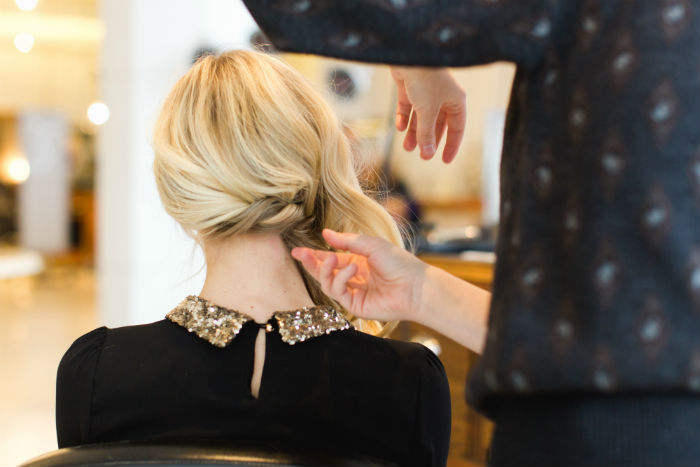 Braided Holiday Updo How To