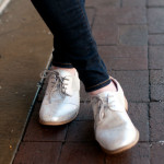 @toms silver brogues | @jessicazimlich
