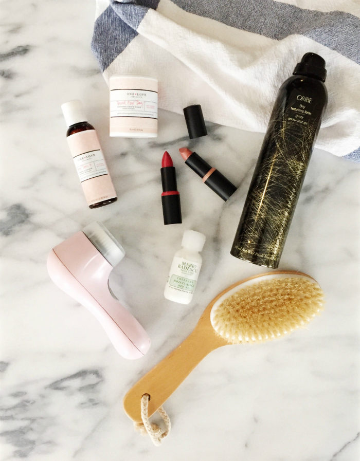 best beauty products from @oribehaircare, @oneloveorganics, @amazon, @essencecosmetic & @mariobadescu| @jessicazimlich