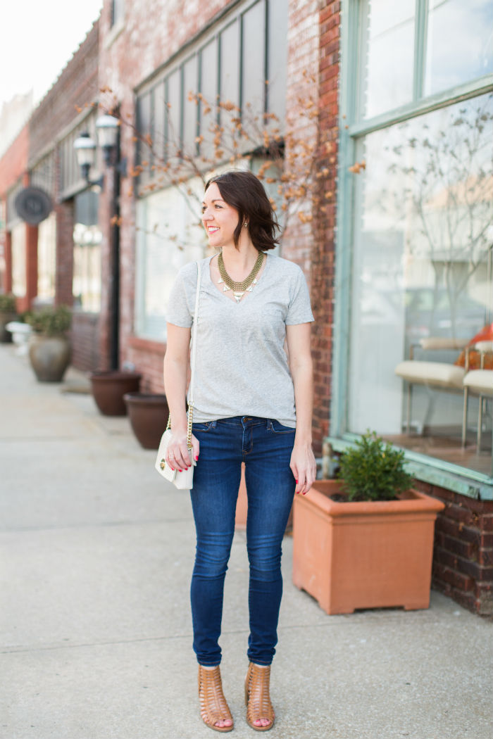 easy spring look | @jessicazimlich