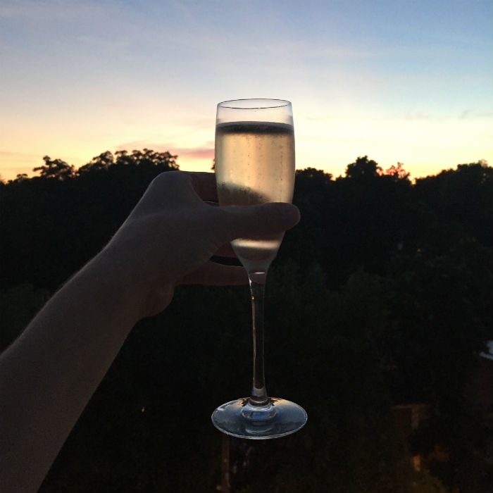 champagne sunsets