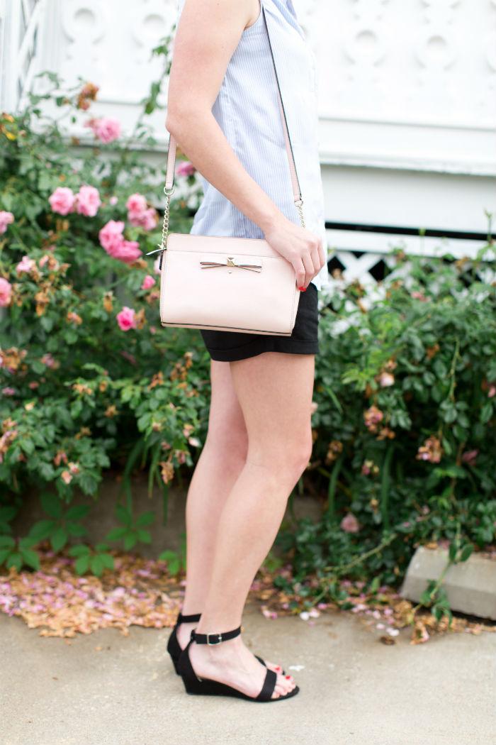 pink @katespadeny purse