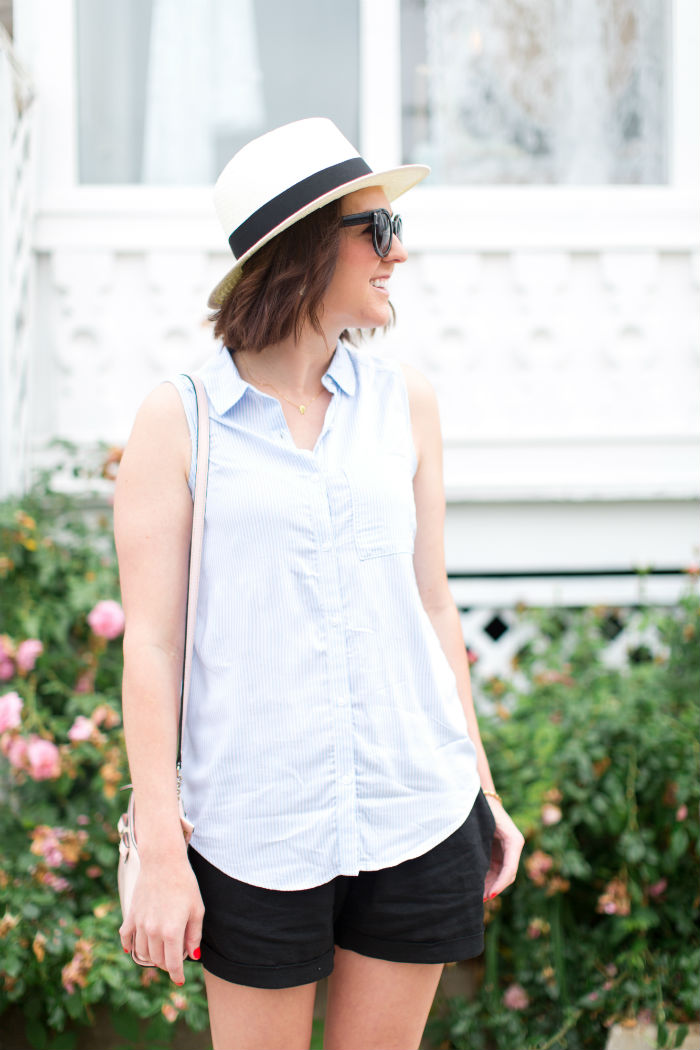 laid back in @oldnavy & @madewell