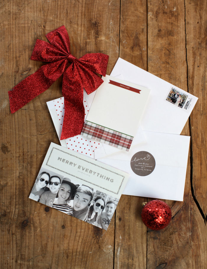 Ordering Christmas cards from @tiny_prints | @jessicazimlich