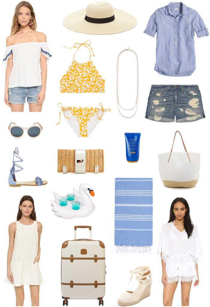 miami beach packing list