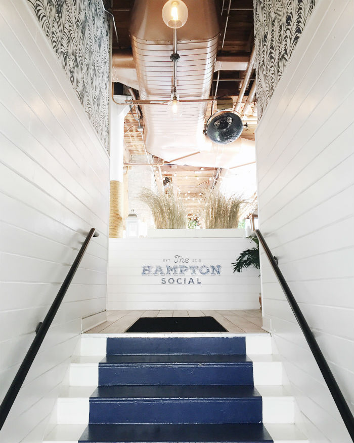 stairway to rosé | the hampton social Chicago