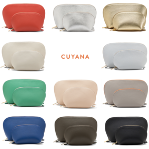 cuyana leather travel case set giveaway