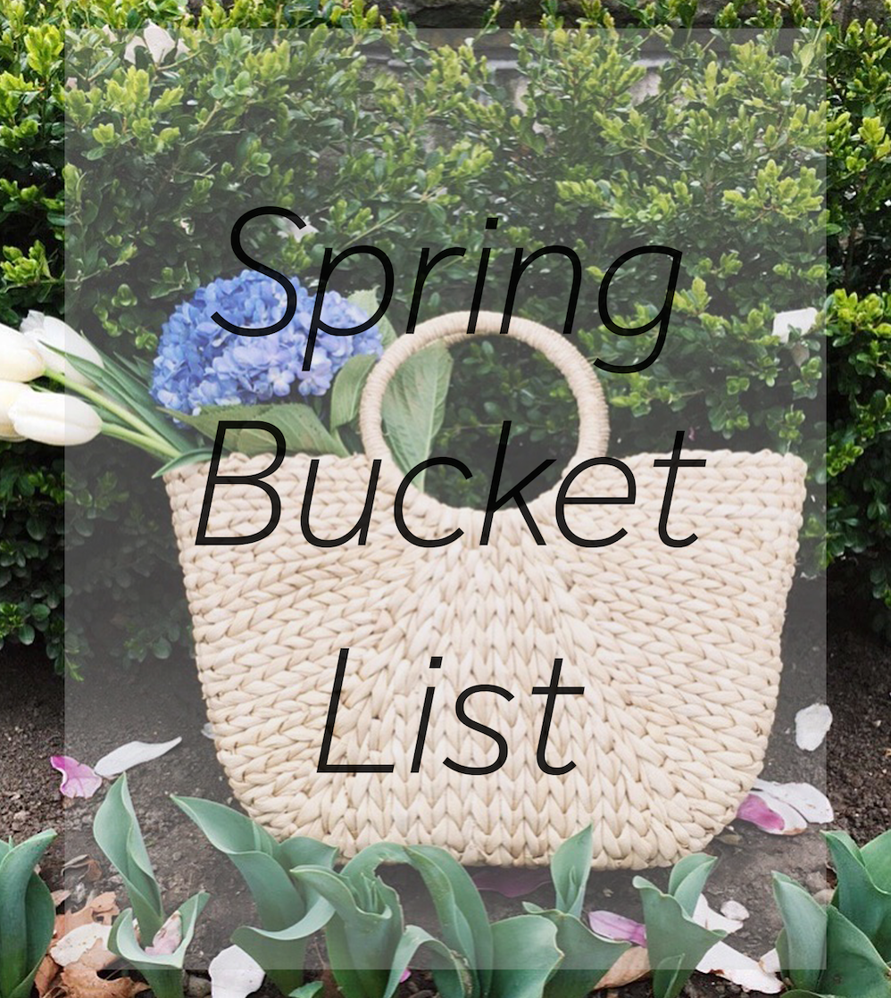 a guide to making this your best spring yet!