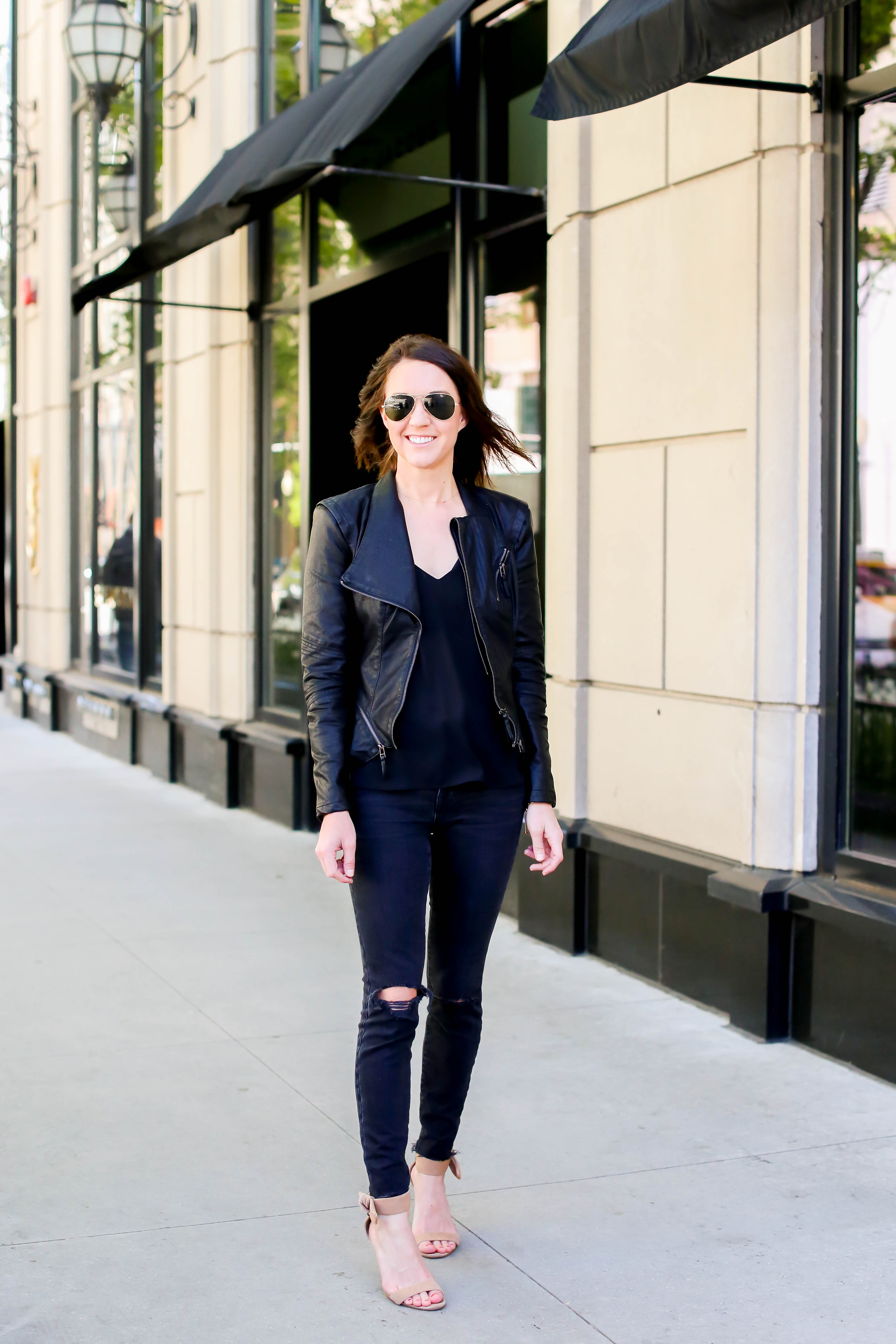 the best faux leather jacket