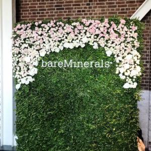 floral grass wall