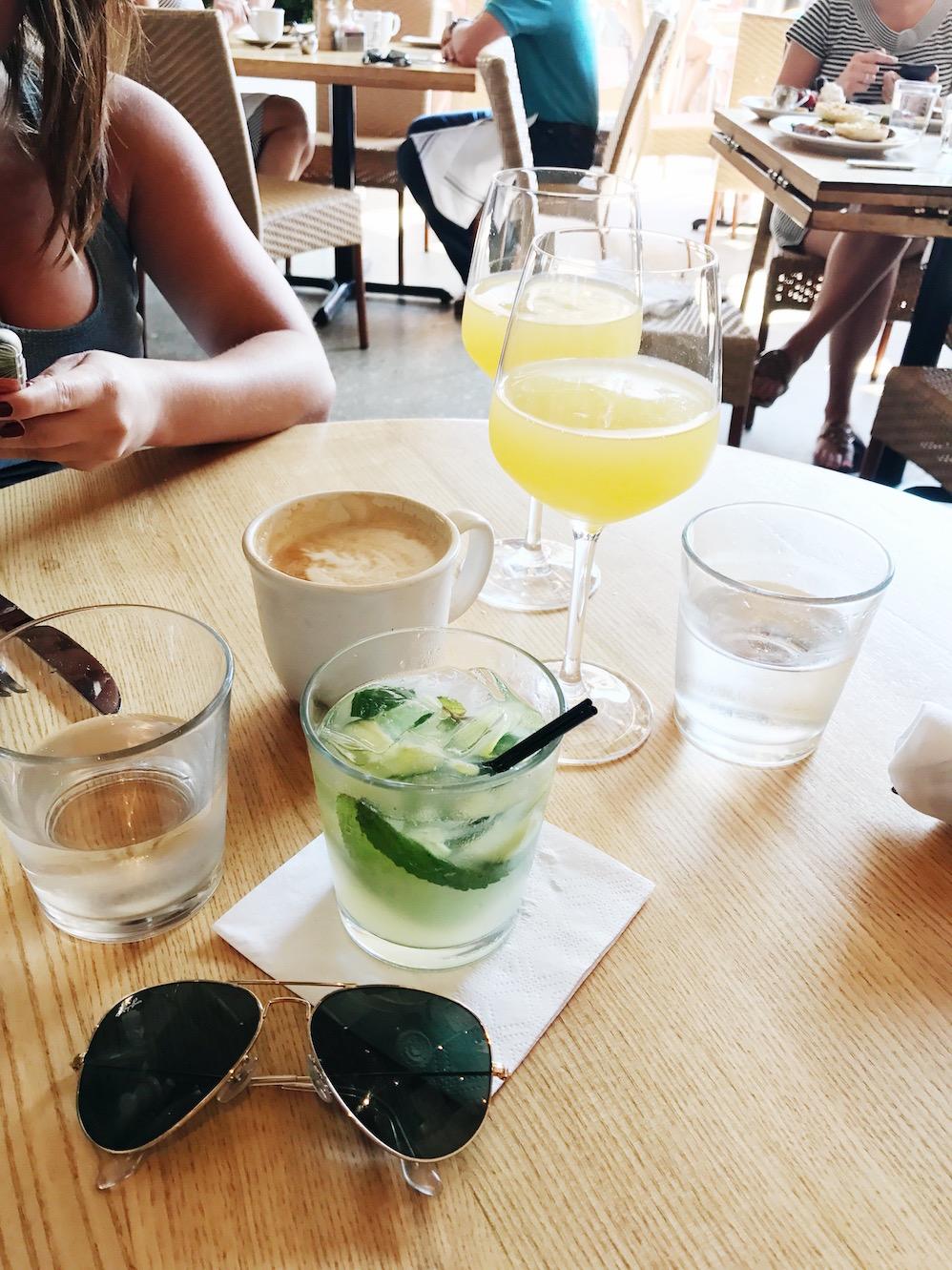 brunch drinks