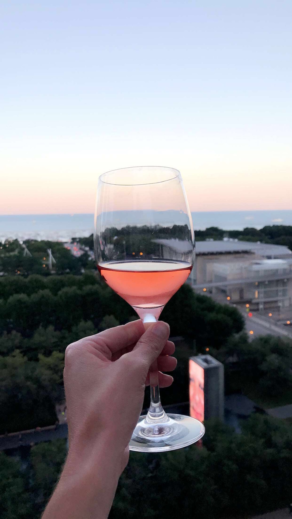 rosé all day (and night)